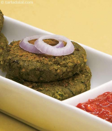 spinach and chana kebab