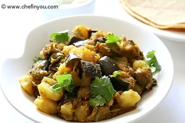 eggplant and potato masala